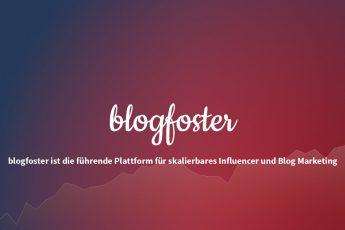 blogfoster - Influencer Marketing